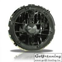 VW Golf 1 Фары наружные с ангельскими глазками тонированные
