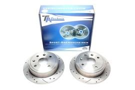 Chevrolet Lacetti/Nubira/Daewoo Lacetti/Nubira Комплект спортивных тормозных дисков