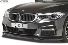 BMW 5er G30/G31 2017- Накладка на передний бампер глянцевая