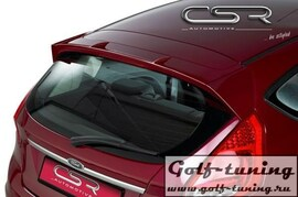 Ford Fiesta MK7 08-12 Спойлер на крышку багажника X-Line design