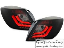 Opel Astra H GTC Фонари светодиодные, черные Lighbar Design