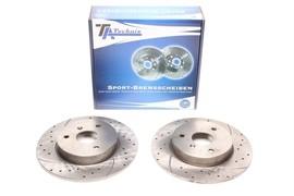 Smart Typ 450/451/452 Комплект спортивных тормозных дисков