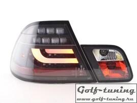 BMW E46 99-02 Купе Фонари светодиодные, черные lightbar design