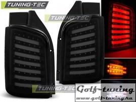 VW T5 03-15 Transporter Фонари светодиодные, черно- тонированные