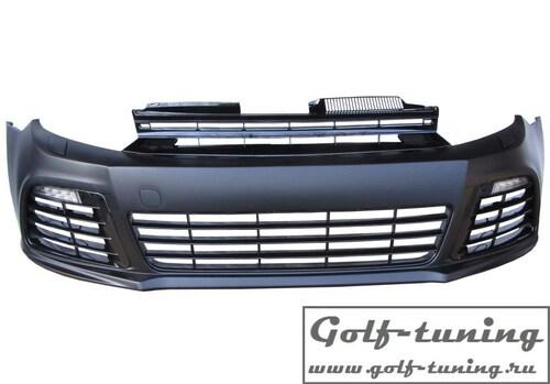 VW Golf 6 Передний бампер в стиле R20