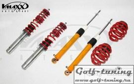 Fiat Punto EVO/Grande Punto Винтовая подвеска V-Maxx c регулировкой по жесткости и высоте