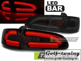 Seat Ibiza 6L 02-08 Фонари светодиодные, красно- тонированные Lighbar