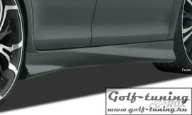 """Renault Megane 3 (4/5Дв) Пороги """"Turbo"""""""