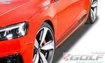 Audi RS5 (F5) Накладки на пороги Slim