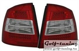 Opel Astra G 3/5D Фонари светодиодные, красно-белые