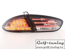 Seat Leon 1P1 09- Фонари светодиодные, черные