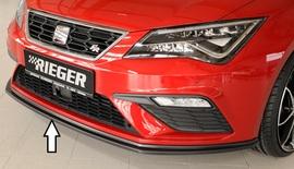 Seat Leon FR (5F)/Leon Cupra 17- Сплиттер для оригинального бампера FR/Cupra