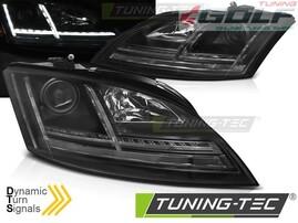 Audi TT 8J 06-10 Фары lightbar design черные