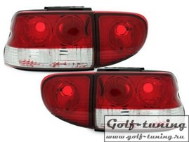 Ford Escort 93-00 Хэтчбек Фонари красно-белые