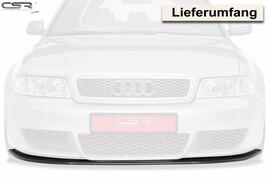 Audi RS4 B5 00-01 Накладка на передний бампер глянцевая