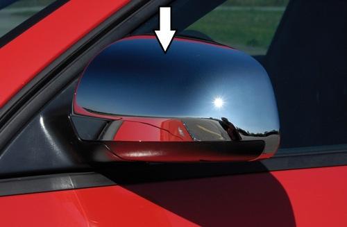 Audi A3/A4/A6 Накладки на зеркала хромированные