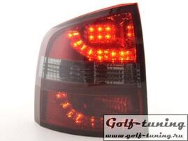 Skoda Octavia Combi 1Z 05-11 Фонари светодиодные, красно-тонированные
