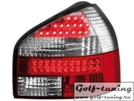 Audi A3 8L 96-00 Фонари светодиодные, красно-белые