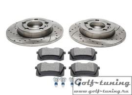 Audi / Skoda / VW Комплект спортивных тормозных дисков и колодок