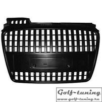 Audi A4 B7 04-08 Решетка радиатора без значка черная