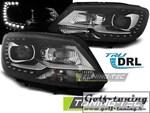 VW Touran/Caddy 10-15 Фары TRU DRL черные