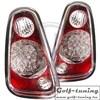 Mini R50/R53 01-06 Фонари светодиодные, красно-белые