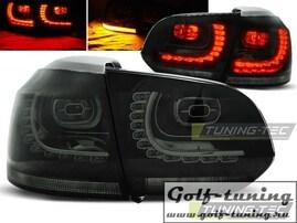 VW Golf 6 Фонари светодиодные, тонированные