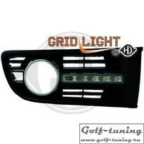 VW Polo 9N 01-05 Дневные ходовые огни