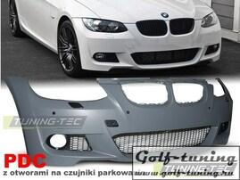 BMW E92 06-09 Бампер передний M-Packet Look +PDC