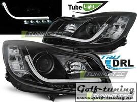 Opel Insignia 08-12 Фары Tube lights черные