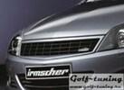 Opel Astra H 5D 07- Решетка без значка черная