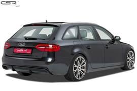 Audi A4 B8 07-15 Накладка на задний бампер.диффузор