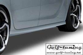 Opel Meriva B 10- Накладки на пороги