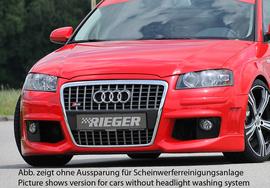 Audi A3 8P 05-08 3/5Дв Передний бампер R-Frame