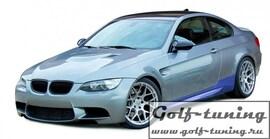 BMW E92 2Дв 07-09 Накладки на пороги JOM Sportlook