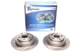 Subaru Forester / Imprzea / Legacy I+II Комплект спортивных тормозных дисков