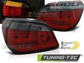 BMW E60 07-10 Фонари красно-тонированные, с динамическим бегающим поворотником