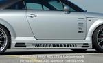 Audi TT 8N 98-06 Накладки на пороги carbon look