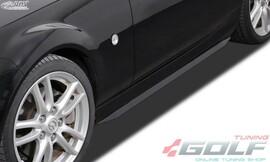 "Mazda MX5 (NC) Накладки на пороги ""Slim"""