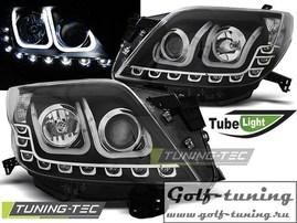 Toyota Land Cruiser 150 09-13 Фары Tube lights черные