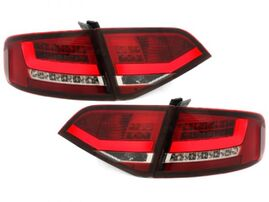 Audi A4 B8 08-11 Седан Фонари светодиодные, красные Lightbar