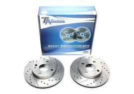 Mazda 323/Demio Комплект спортивных тормозных дисков