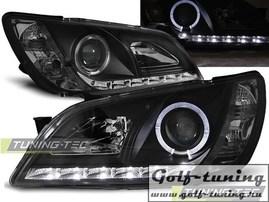 Lexus IS 01-05 Фары Devil eyes, Dayline черные