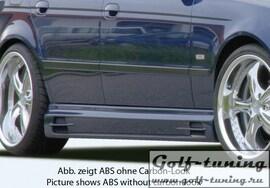 BMW E39 Седан/Универсал Накладки на пороги carbon look