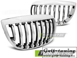 BMW E81/E87 04-07 Решетки радиатора (ноздри) хром