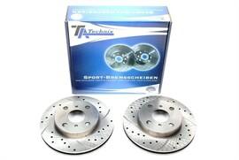 Toyota Corolla Комплект спортивных тормозных дисков