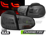VW Golf 6 08-12 Фонари LED BAR тонированные