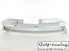 VW Golf 6 Решетка радиатора без значка хром