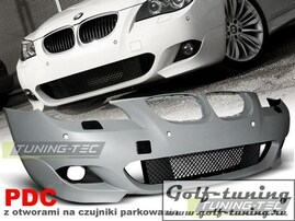 BMW E60 03-07 Бампер передний M-Technik Look