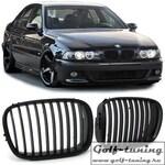 BMW E39 95-03 Решетки радиатора (ноздри) черные